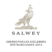 Salwey's Spaetburgunder is grown in loess-covered volcanic ash, unique in the world.